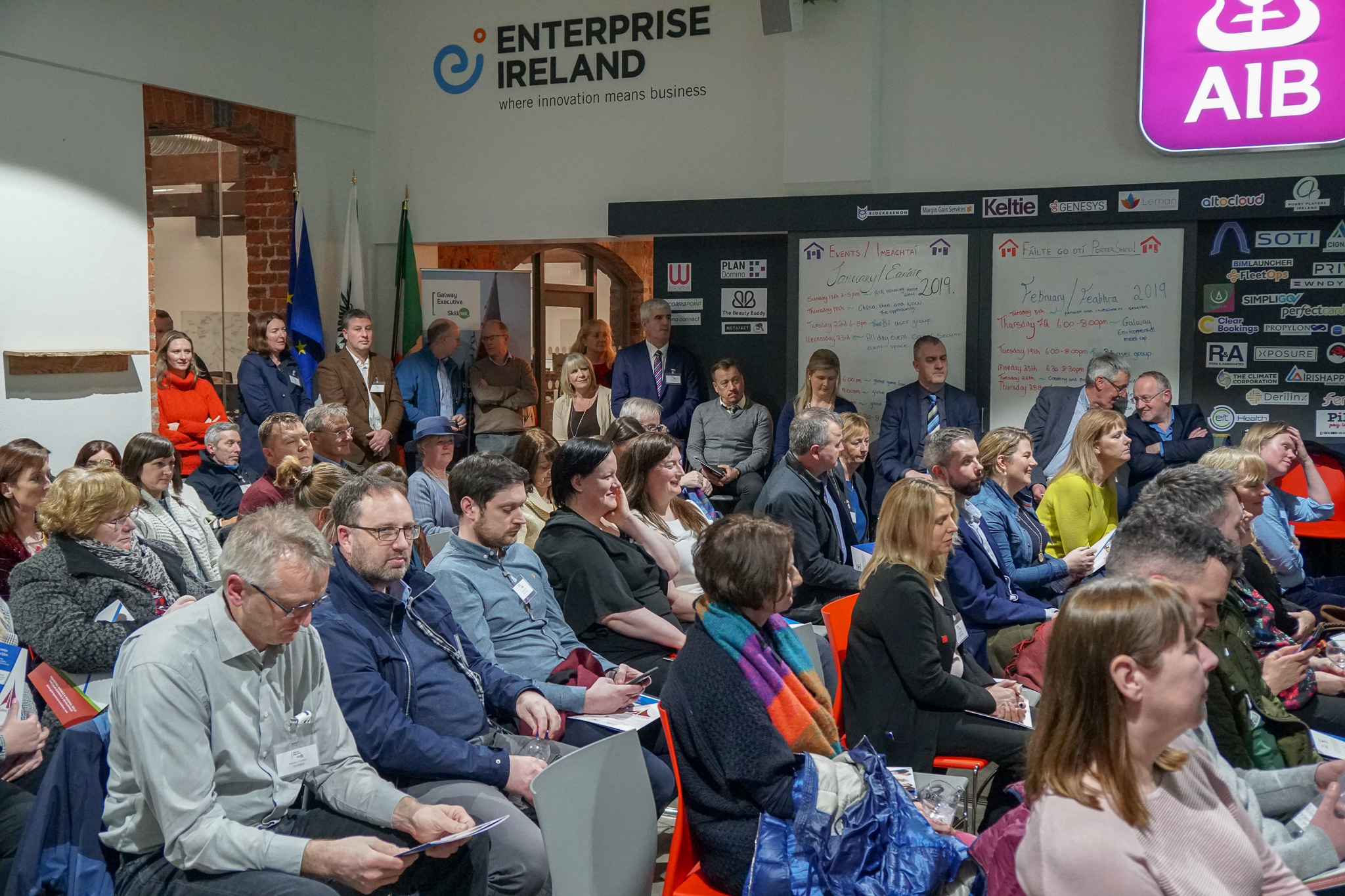 Galway Executive Skillnet Spring Schedule Launch 2019